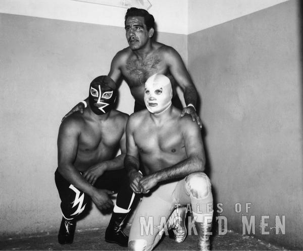 Santo, Rayo, Black Shadow : retouched